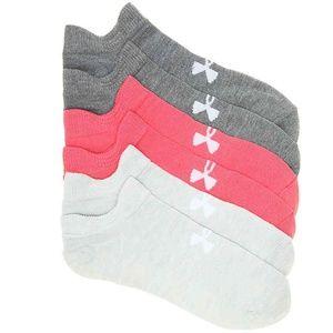 Under Armour Essential Women's No Show Socks  6pk